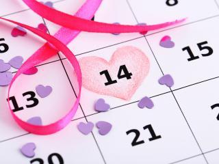 обои Календарь любви фото