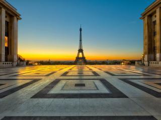 обои Эйфелева башня,   Париж,   площадь фото