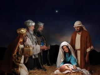 обои Святая Рождественская ночь фото