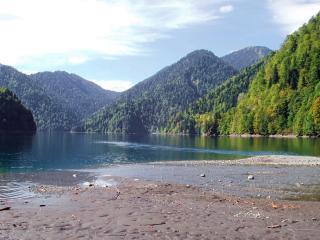 обои Абхазия. Озеро Рица фото