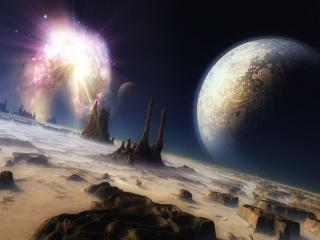 обои Космическая панорама фото
