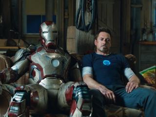обои Тони Старк и железный человек фото
