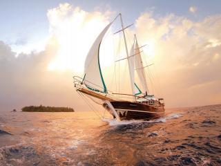 обои Красивое небo и море фото