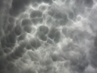 обои Редкий вид облаков фото
