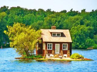 обои Домик на острове фото