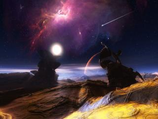 обои Космическая долина фото