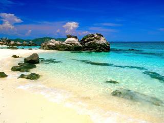 обои для рабочего стола: Райский островок