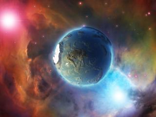обои Реликтовая планета фото