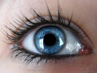 обои Ясный голубой глаз фото