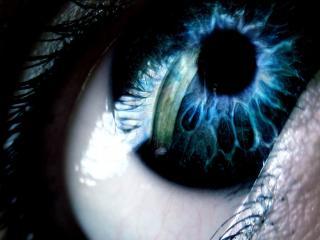 обои Магический голубой глаз фото