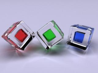 обои Три кубика фото