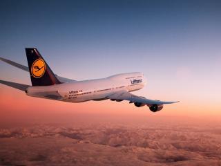 обои Самолет пассажирской авиакомпании фото