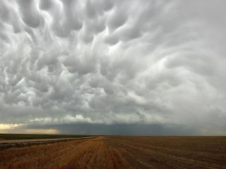 обои Облака - предвестники урагана фото