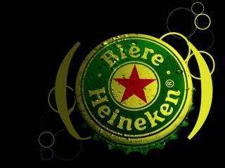 обои Пивная пробка Heineken фото
