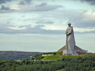 обои Памятник Алёше в Мурманске фото