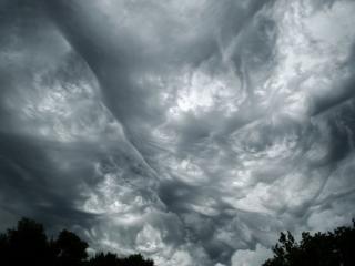 обои Вихревые облака фото
