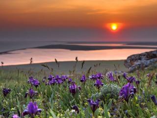 обои Крымский закат фото