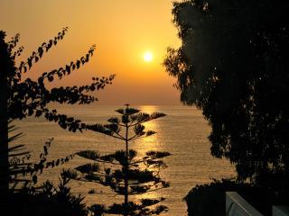 обои Восход на море фото