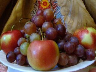 обои Ягодно-фруктовый натюрморт фото