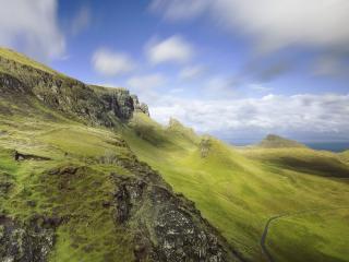 обои Трaвяные холмы фото