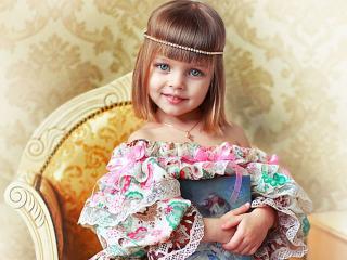 обои Маленькая модница фото