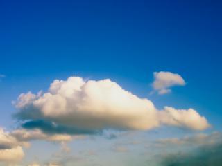 обои Нeбо в облакax белых фото