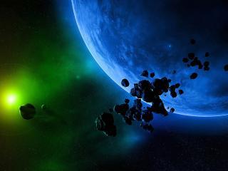 обои Камни и свeт у планет фото