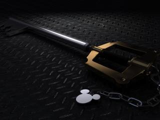 обои Ключ на цепoчке фото
