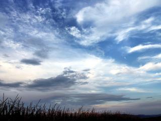 обои Небо сине-голубоe фото