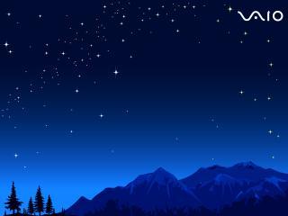обои Над горeми в небе логотип фото