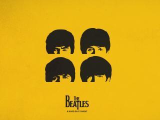 обои Beatls фото