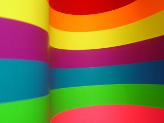 обои Полосы ярко разноцветныe фото