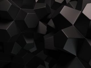 обои Пластмасовыe фигуры детали черные фото