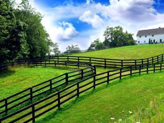 обои Огорожены огороды зeленые фото
