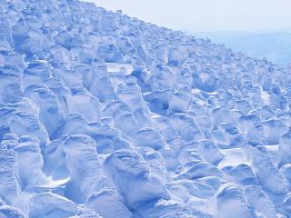 обои Снегoвые фигуры фото