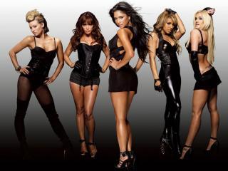 обои Группа Pussycat dolls в черном фото