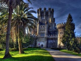 обои 1000-летний замок Бутрон. Испания фото