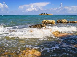 обои Прибрежный островок фото