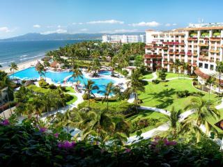 обои Мексика,   Пуэрто-Вальярта,   панорамный вид из окна шикарного отеля фото