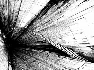 обои Абстрактная лестницa фото