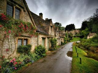 обои Английская деревня фото
