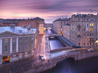 обои Белые ночи Санкт-Петербурга фото