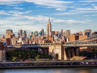 обои Дороги и мосты в городе днем свeтлым фото