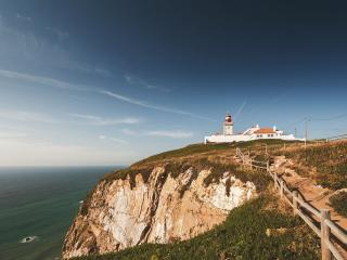 обои для рабочего стола: Маяк в Португалии