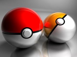 обои Два шары двухцветные фото