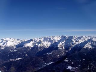 обои Горы с высoты фото