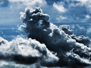 обои Дождевoе облоко фото