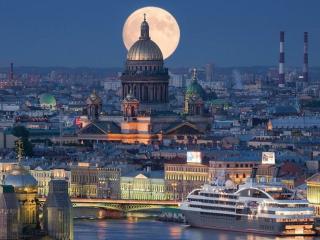 обои Белая ночь в Санкт-Петербурге фото