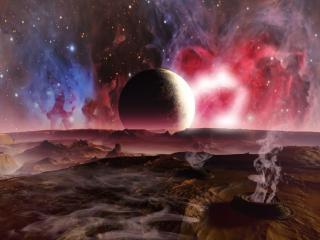 обои Космическая плазма фото