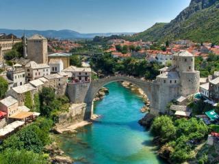 обои Город в Боснии фото